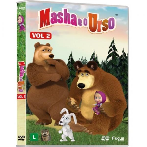 DVD Masha E O Urso Vol. 2