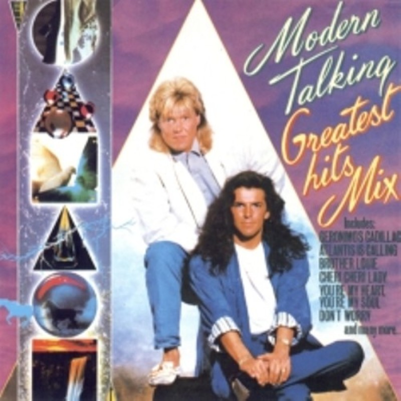 Cd Modern Talking Greatest Hits Mix Merci Disco