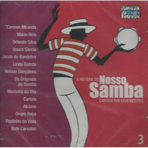 CD Nosso Samba Vol. 3