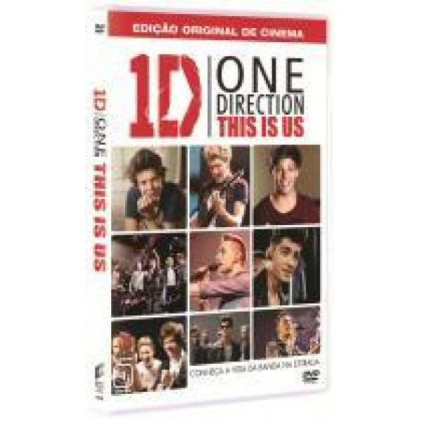 DVD One Direction - This is Us