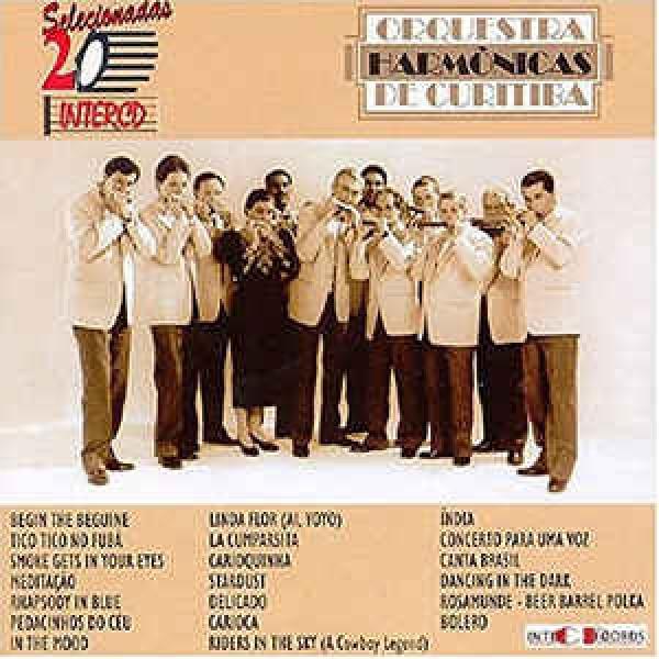 CD Orquestra Harmônicas de Curitiba - 20 Selecionadas
