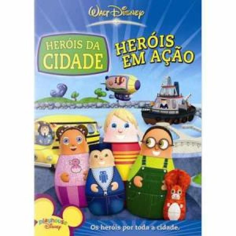 Dvd Os Herois Da Cidade Herois Em Acao