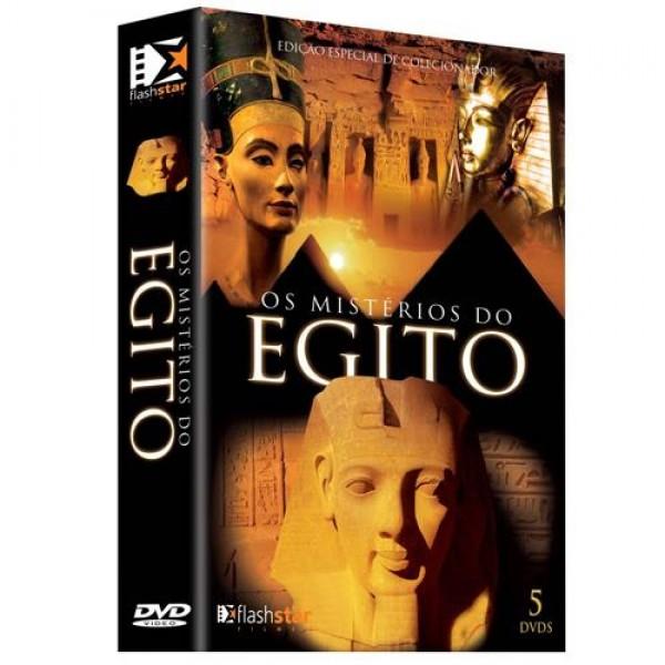 Box Os Mistérios do Egito (5 DVD's)