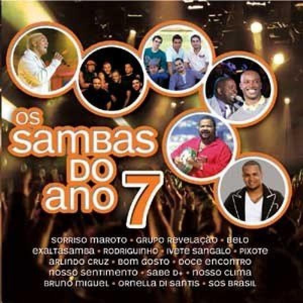 CD Os Sambas do Ano - Vol. 7