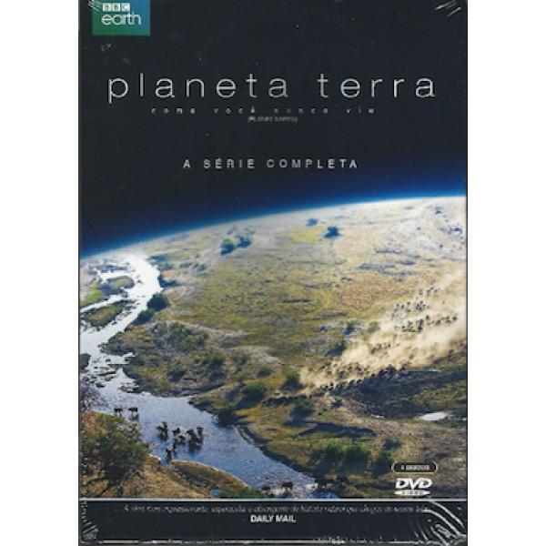 Box Planeta Terra (4 DVD's)