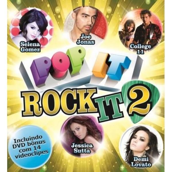 CD + DVD Pop It Rock It 2