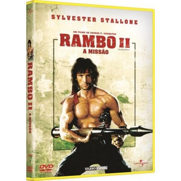 DVD Rambo II - A Missão