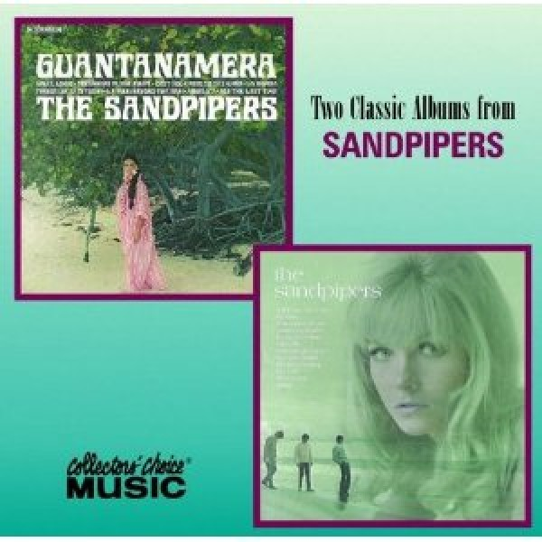 CD The Sandpipers - Two Classic Albuns: Guantanamera/The Sandpipers (IMPORTADO)