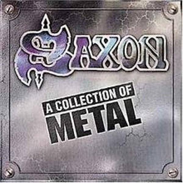 CD Saxon - A Collection Of Metal (IMPORTADO)