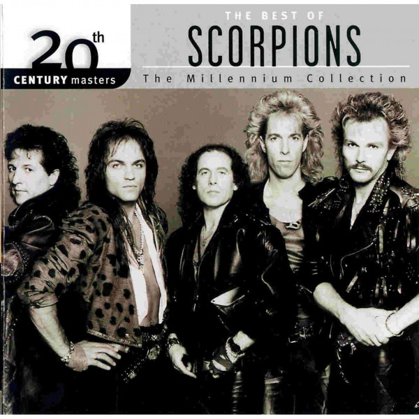 CD Scorpions - The Best Of - 20th Century Masters (IMPORTADO)