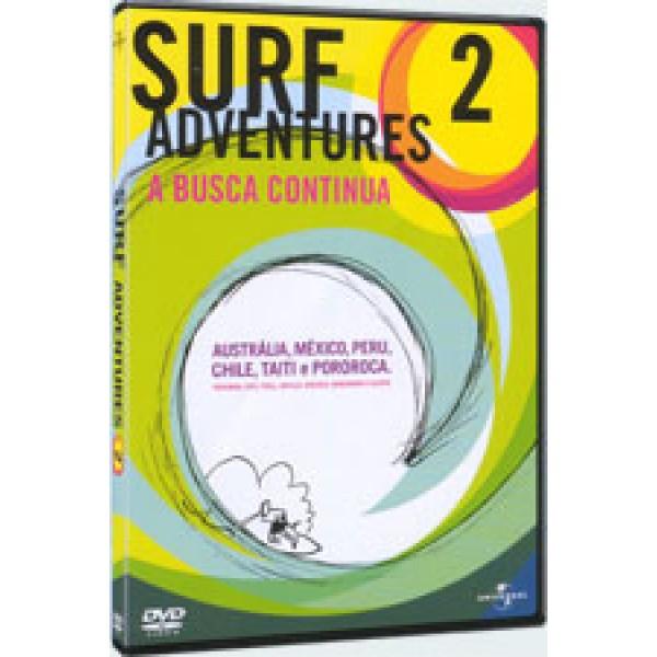 DVD Surf Adventures 2 - A Busca Continua
