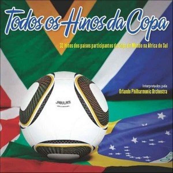 CD Todos Os Hinos da Copa