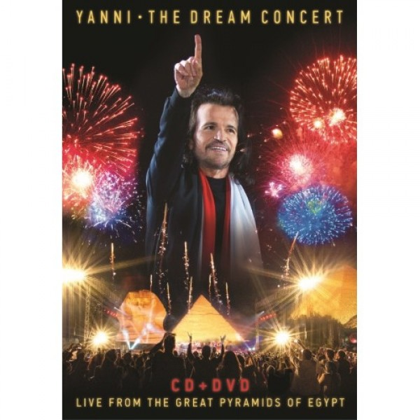 DVD + CD Yanni - The Dream Concert: Live From The Great Pyramids Of Egypt