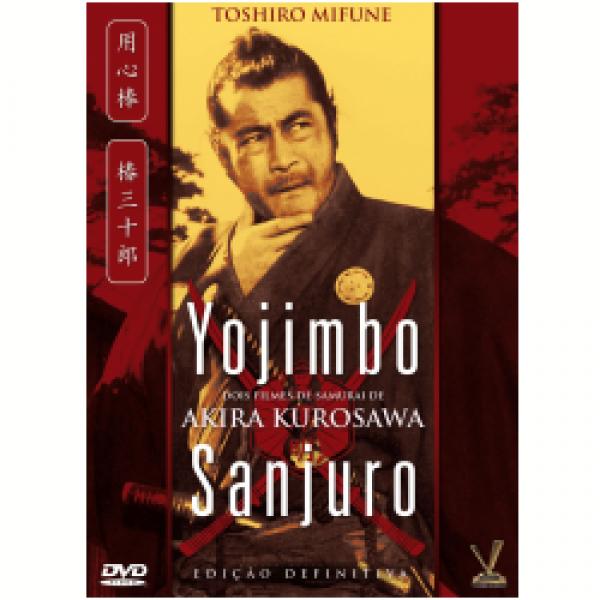 DVD Yojimbo & Sanjuro (DUPLO)